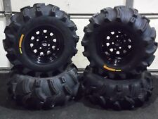 "HONDA RANCHER 350 (SRA) 26"" EXECUTIONER ATV TIRE ITP BLACK ATV WHEEL KIT COMP."