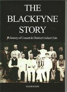 Book. History of the Consett & District Cricket Club.