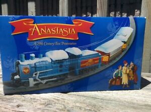 NEVER RUN BEFORE Anastasia Train Set 20th Century fox presentation 1997 MIB