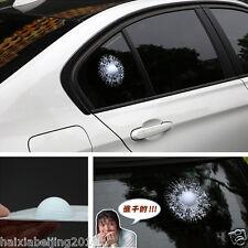 1 Pcs White Funny 3D Golf Ball Car Sticker Decal Pokeball Hit Window Decoration