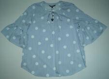 TOMMY HILFIGER  Damen Bluse * blau-weiß * Gr. 8 (1629)