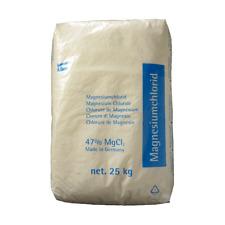 Magnesiumchlorid 25kg 47 MGCL2 Entstaubungsmittel Frostschutzmittel