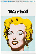 Marilyn Monroe by Andy Warhol (Tate Gallery, 1971) - Poster Wall Art
