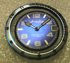 Blue/White Vostok Amphibian Komandirskie Custom Paddle Watch Hands