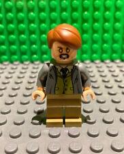Lego Professor Remus Lupin Minifig 75955 Olive Green Vest Harry Potter, hp157 L1