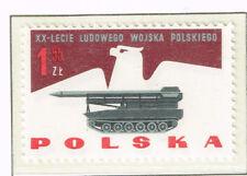 Poland Cold War Rocket Missile stamp 1966 MNH