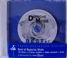 DEPECHE MODE BEST  OF CD FRANCE CARTE COLLECTOR