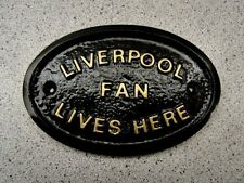 LIVERPOOL - HOUSE DOOR PLAQUE SIGN  GATE WALL