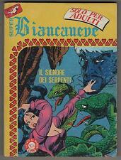SUPER BIANCANEVE N.4 IL SIGNORE DEI SERPENTI  edifumetto 1983 leone frollo