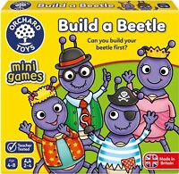 Orchard Toys MINI GAME BUILD A BEETLE Educational Game Puzzle BN