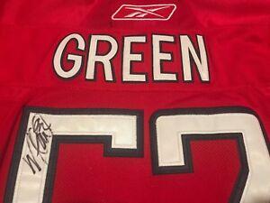 Washington Capitals Mike Green #52 Autographed NHL Hockey Reebok Jersey
