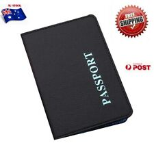 Passport Cover Wallet Travel Holder ID Cards Case Organizer Business PU Leather