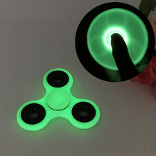 Luminous Glow In The Dark Hand Fidget Spinner EDC Finger Desk Toy Focus ADHD