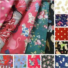 100% Craft Sewing Cotton Patchwork Material Metre Half Meter Fabric UK
