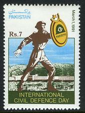 Pakistan 744, MNH. Intl. Civil Defense Day, 1991