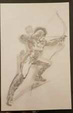 More details for mike grell green arrow sketch, 11