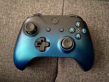 Microsoft Xbox One Wireless Controller Ocean Shadow Special Edition read DESC