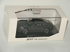 Porsche 911 Coupé graphite grey - 50th Anniversary - Special Edition 1:43 NEW