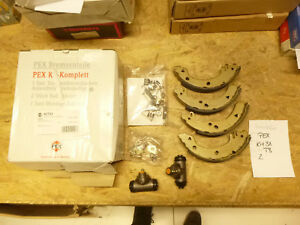 FORD FIESTA 3 MK3 GFJ Bremsbacken Radbremszylinder SET Bremsbackensatz Zubehör