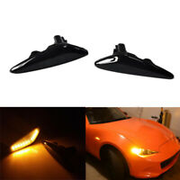 Car Dynamic LED Side Marker Light Turn Signal Light for Mazda MX-5 MX-8 F4V1