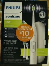 NEW! Philips Sonicare ProtectiveClean 6300 Electric Toothbrush - White HX6463/50