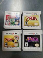 Zelda Ocarina of Time A Link Between Worlds Majora's Mask Tri Force Nintendo 3DS