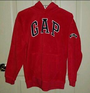 GAP Classic Fleece Pullover Hoodie Kids XXL Red