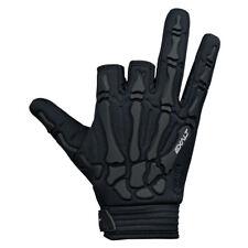Exalt Death Grip Gloves - Black / Black - Large - Paintball