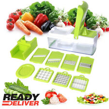 NEW 12 In 1 Food Vegetable Salad Fruit Peeler Cutter Slicer Dicer Chopper SAJFS