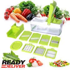 NEW 12 In 1 Food Vegetable Salad Fruit Peeler Cutter Slicer Dicer Chopper SAJFS