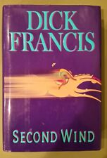 Second Wind by Dick Francis (1999, Hardcover) FIRST EDITION - LIKE NEW!!