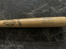 "Vintage Johnny Bench Spalding 121 Model Baseball Bat 34.5"" 38oz. ""JOHN BENCH""ins"