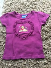 Teeshirt fille violet Disney taille 4 ans