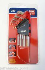 USAG - SERIE 9 CHIAVI MASCHIO ESAGONALE 280 S9
