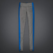 NWT Womens Gilly Hicks Sport Yoga Athletic Excercise Leggings Gray/Blue Sz Small