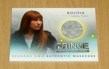 2013 Cryptozoic FRINGE Season 3/4 wardrobe Anna Torv as Bolivia M19