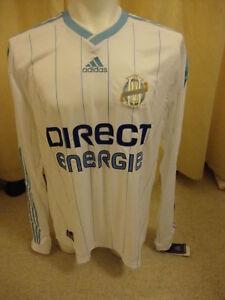 Olympique Marseille 2009-10 Player Issue Formotion Shirt by Adidas BNWT (XL)