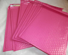 30 Hot Pink 105 X 1525 Poly Bubble Mailers Shipping Padded Envelopes Self 5