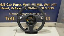 Porsche Panamera Black Leather Heated Multi Function Steering Wheel 7PP419091 CK