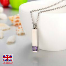 Cremation Urn Ashes Pendant Jewelry INCLUDES SILVER NECKLACE