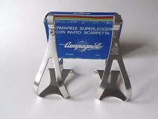 *NOS Vintage 1970s/80s Campagnolo Super Record Alu pedal toe clips - Medium*