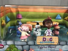 Disney Store Doc McStuffins Figurine Playset 6 Figures / Cake Toppers Brand New
