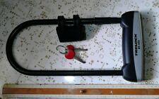 Trelock Bügelschloss BS 400 + Halter 401 + 2 Schlüssel Schloss groß Rad
