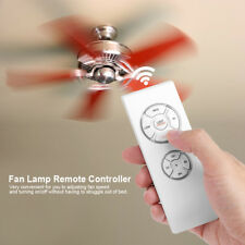 220V Ceiling Pendant Fan Lamp Light Remote Controller 4 Timing 3 Speeds Wireless