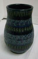 50er 60er Jahre Keramik glasiert  Vase mid century 50s