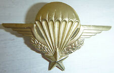 WINGS BADGE - Brass - FRENCH FOREIGN LEGION - Laos, Cambodia, Vietnam - 9064