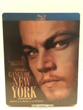 Gangs Of New York Canadian Bluray Steelbook with Protective Cover