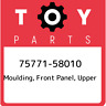 75771-58010 Toyota Moulding, front panel, upper 7577158010, New Genuine OEM Part