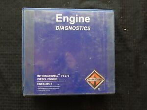 2005-2010 Navistar International VT 275 Motore Diesel Servizio Diagnosi Manuale