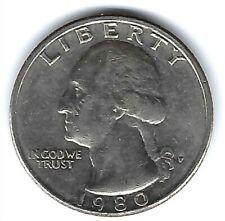 1980-P Philadelphia Circulated Washington Quarter Coin!